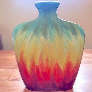 Mayco colourful vase